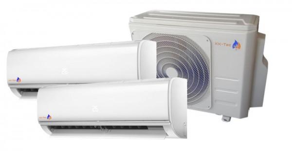 KK-Tec Dual Inverter System Klimaanlage Serie FAIRWIND R32 2,5+3,5