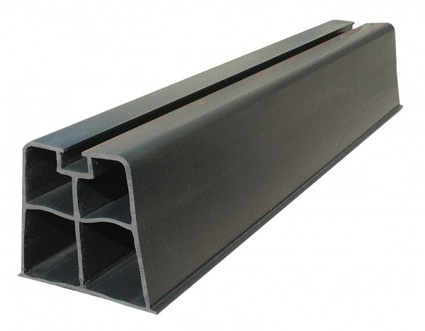 Plarock Standkonsole SB-1000 PVC, schwarz, 1000 mm, 140 KG pro Paar belastbar