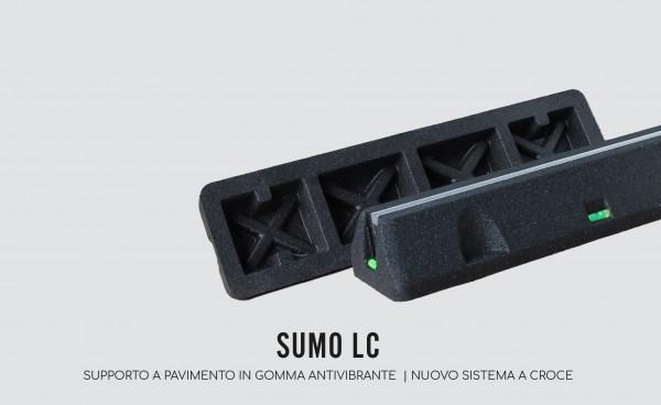 SUMO LCStandkonsole, Dampfungssockel, 600 MM