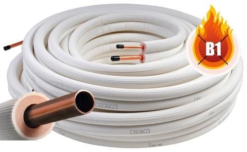 Kältemittelleitung PM-2325EN 6 und 10 mm, Doppelrohr 25 Mtr